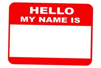 Nombres en ingles
