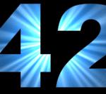 numeros en ingles 42