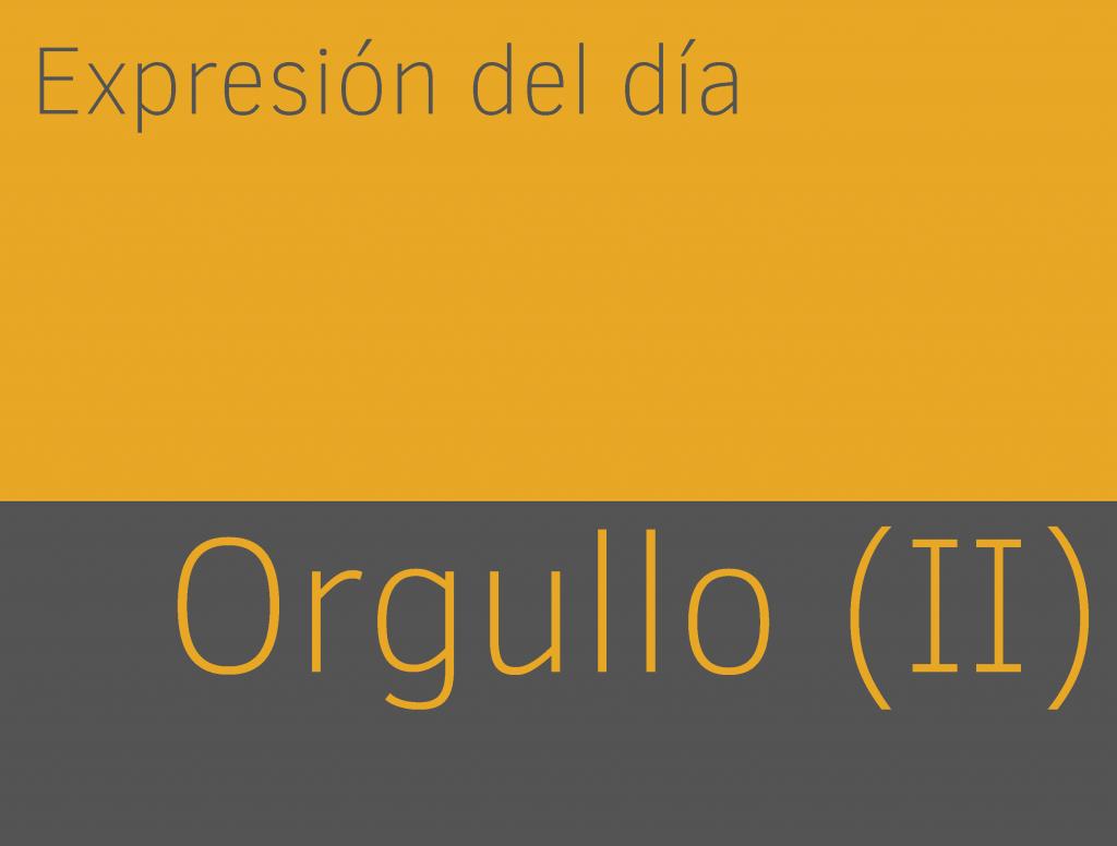 Expresiones de ORGULLO en inglés (II) 1