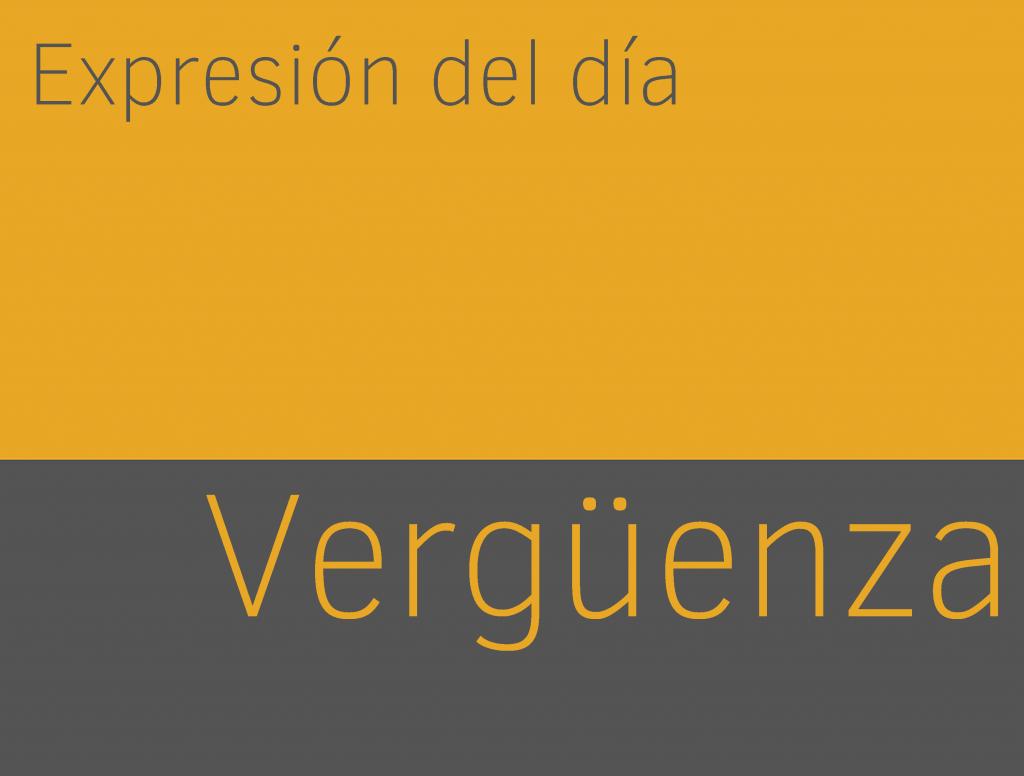 Expresiones de VERGÜENZA en ingles 1