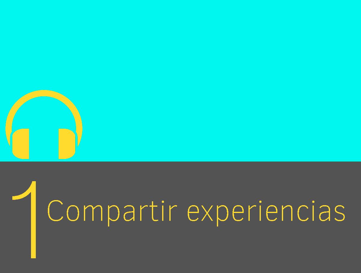 mejorar listening compartir experiencias