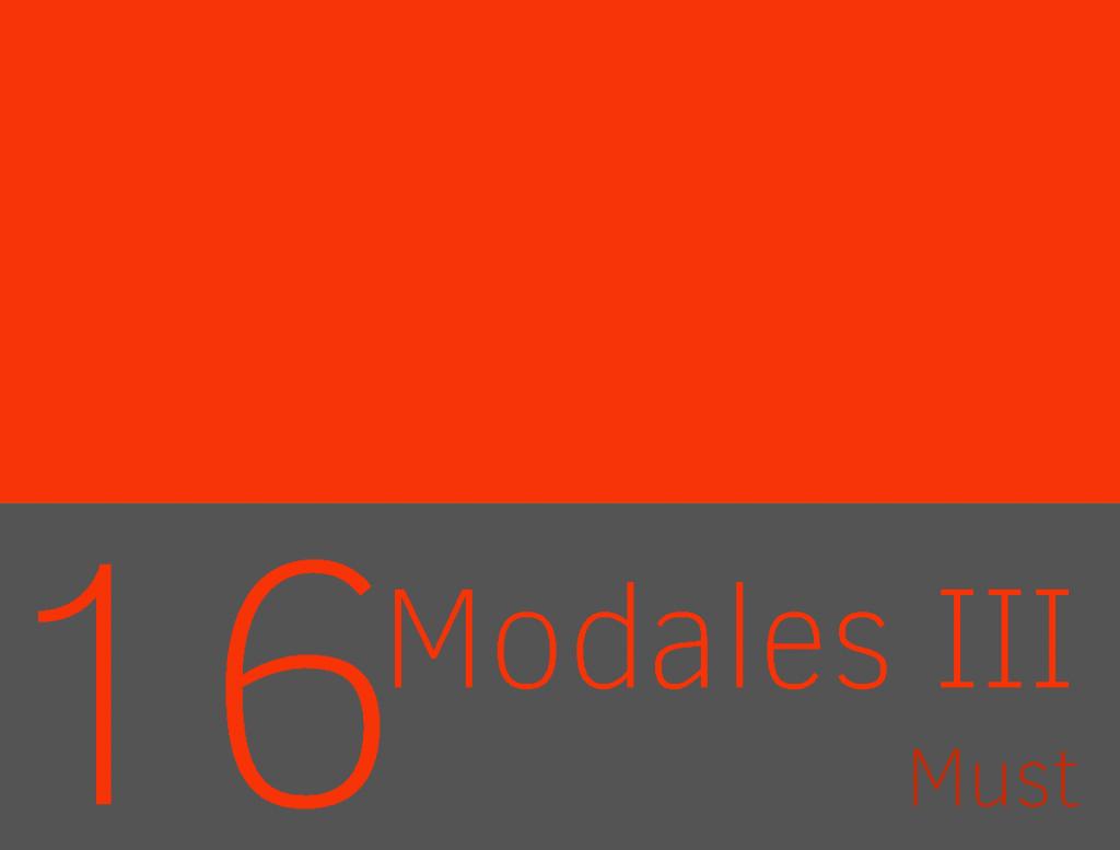 verbo modal must