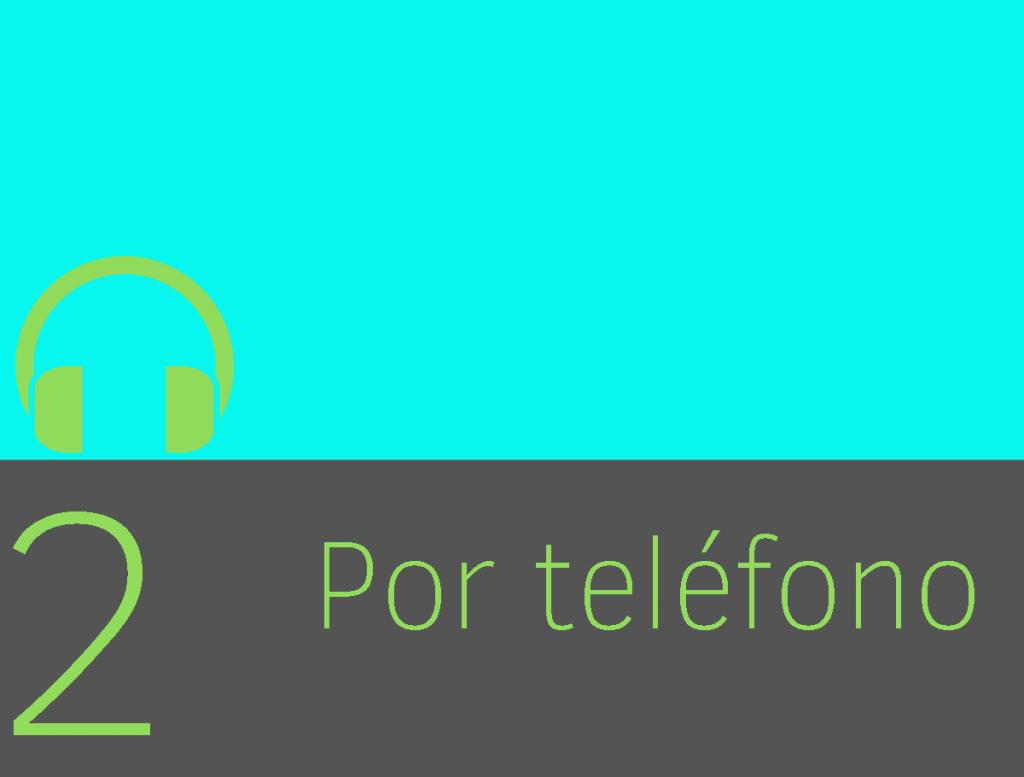 Clase 2 - Por teléfono 1