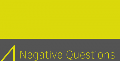 Clase 4 - Negative Questions I 4