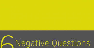 Clase 6 - Negative Questions III 6
