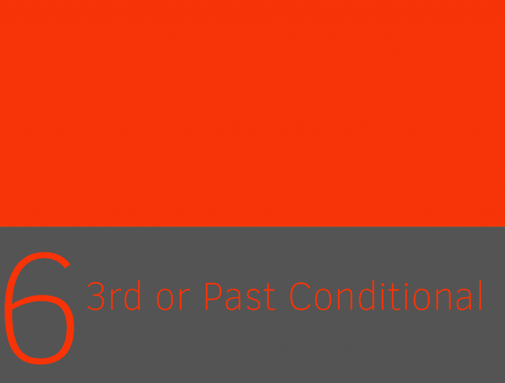 Clase 6 - Third or Past Conditional 1
