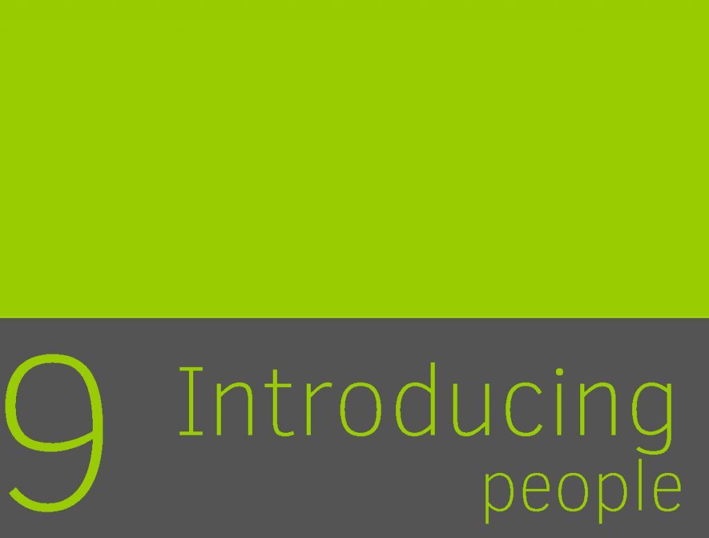 Clase 9 - Introducing people 1