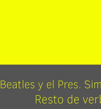 Los Beatles The Beatles y el presente simple Gramática música