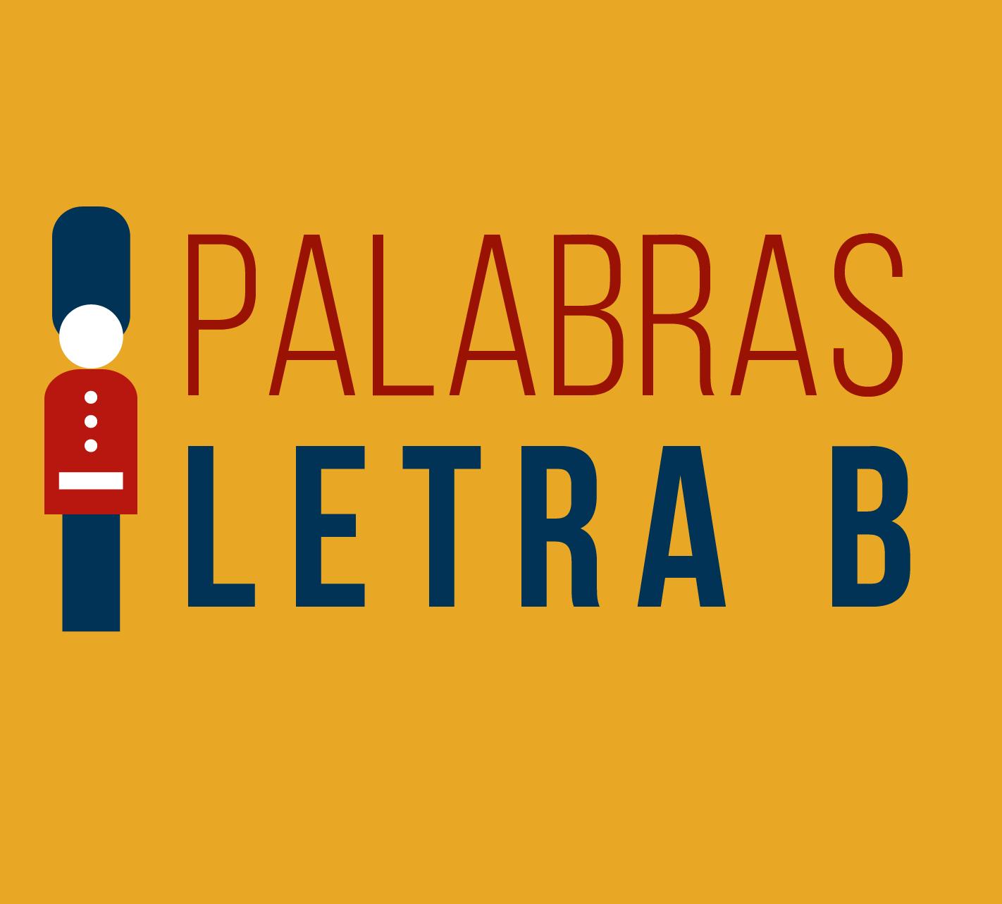 palabras en ingles con la letra B