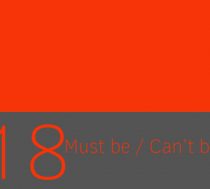 Conclusiones lógicas con must be y can't be
