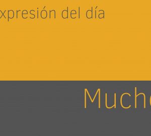 Aprender expresiones de mucho en ingles