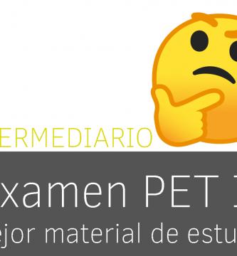 Mejor material para sacarse el B1 (examen PET de Cambridge)