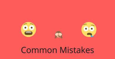 COMMON MISTAKES 1