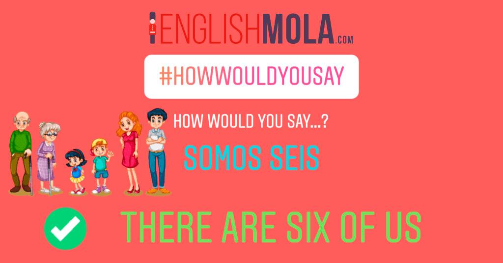 errores comunes en inglés contar personas en inglés