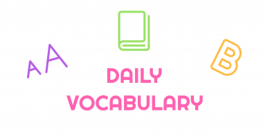Daily Vocabulary 3
